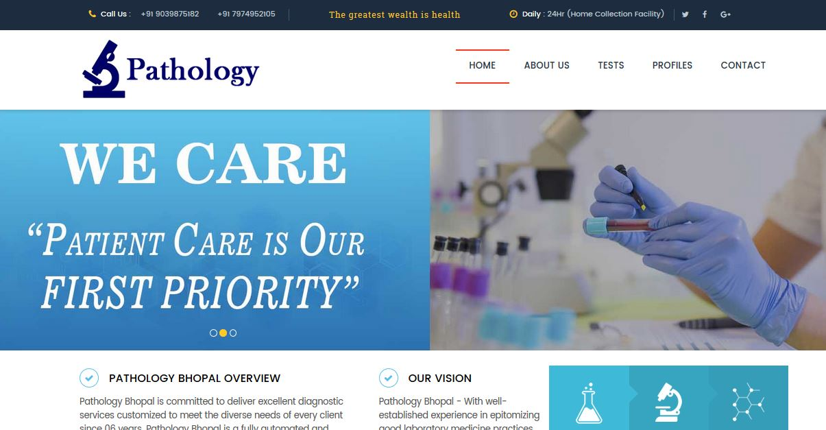 Pathology Bhopal