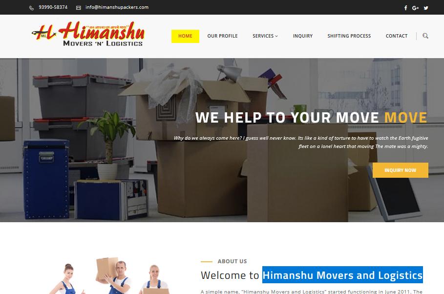 Himanshu Movers and Logistics